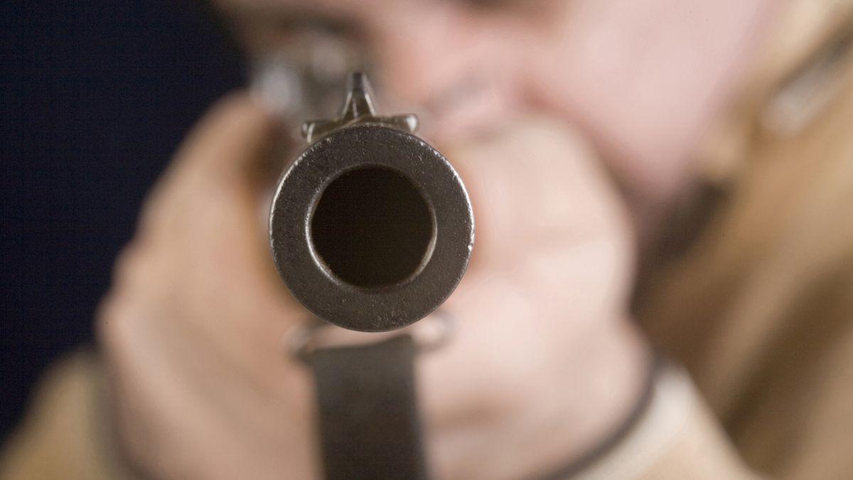 Gewehrlauf Frontalansicht