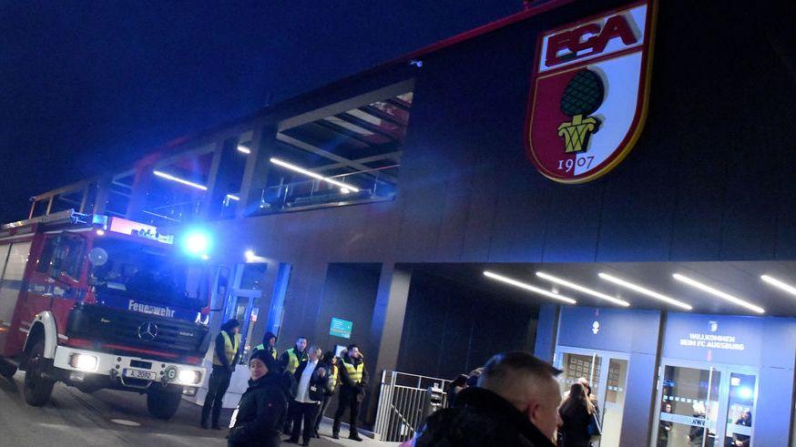 FC Augsburg räumt Stadion wegen Evakuirungsalarm nach Spielende