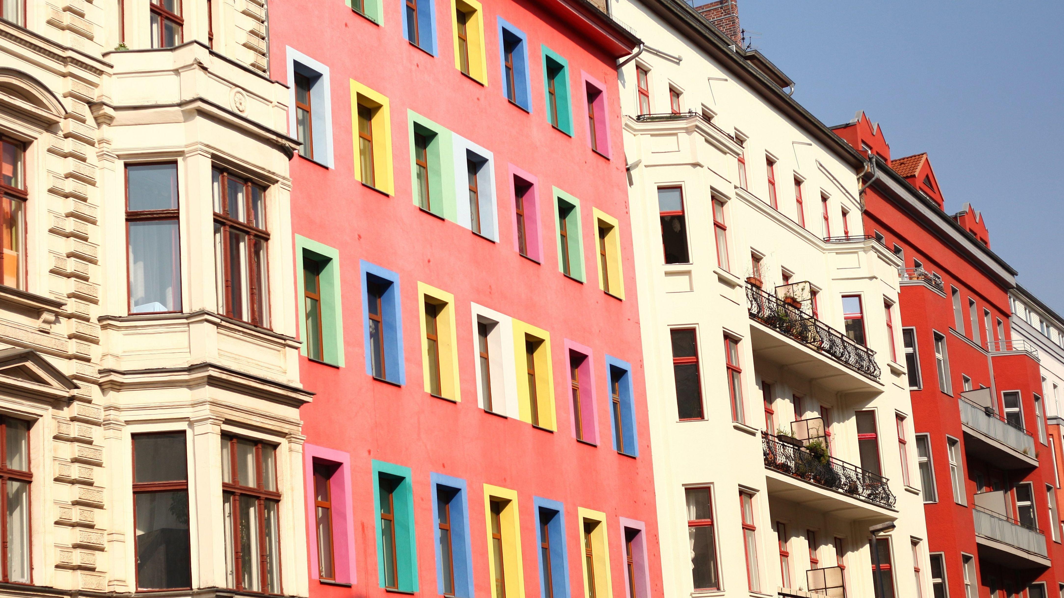 Fassaden in Berlin Kreuzberg