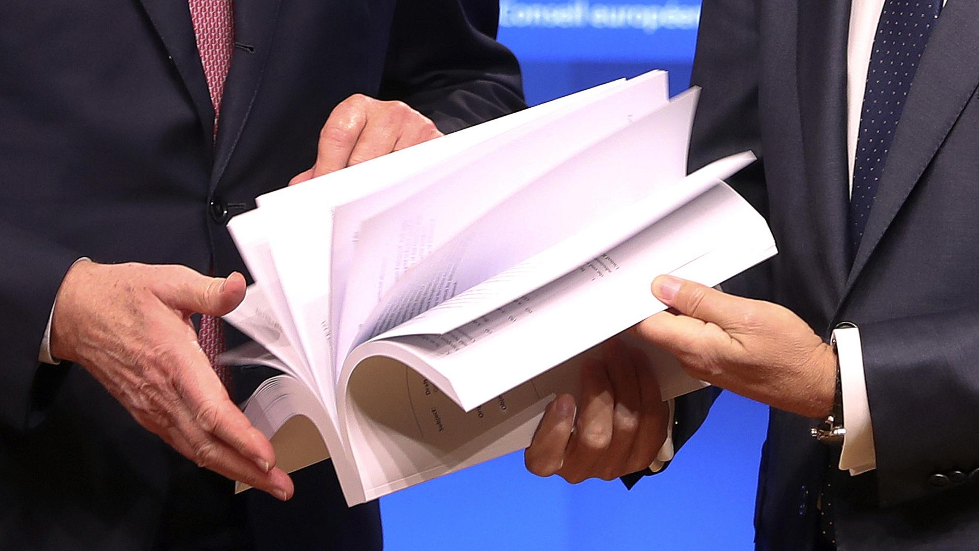 Entwurf des Brexit-Vertrags