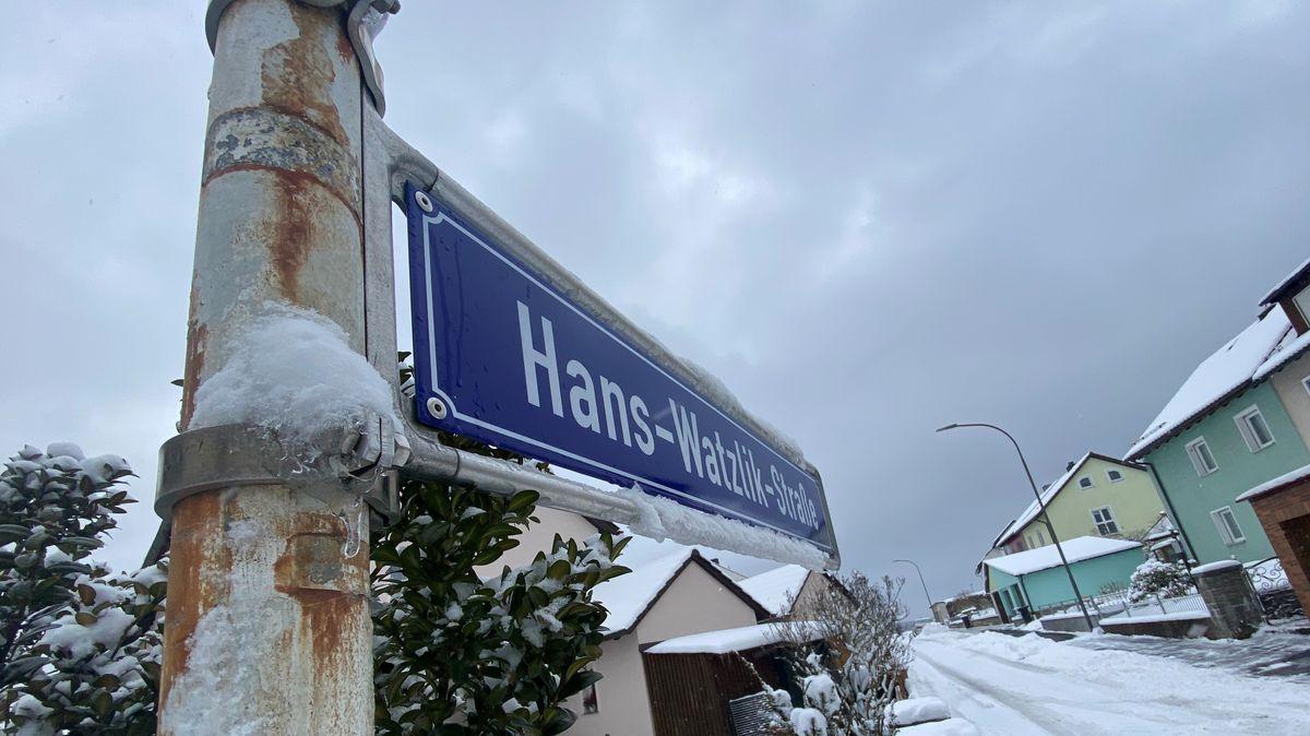 Die Hans-Watzlik-Straße in Sulzbach-Rosenberg soll umbenannt werden.