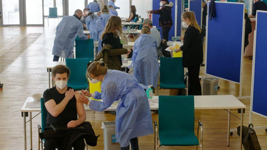 Sonder-Impf-Aktion in Köln