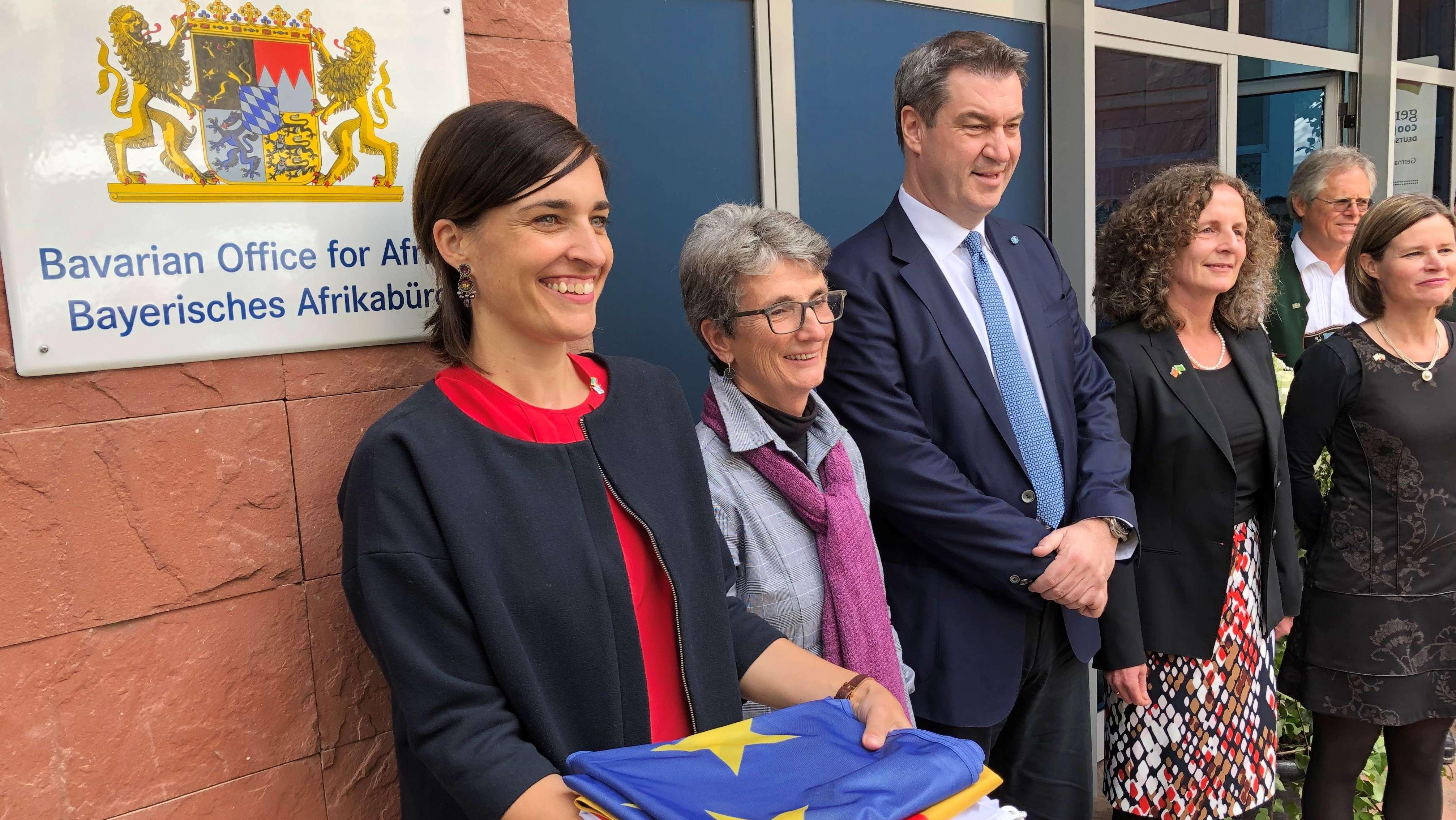 Ministerpräsident Markus Söder eröffnet erstes bayerisches Afrikabüro