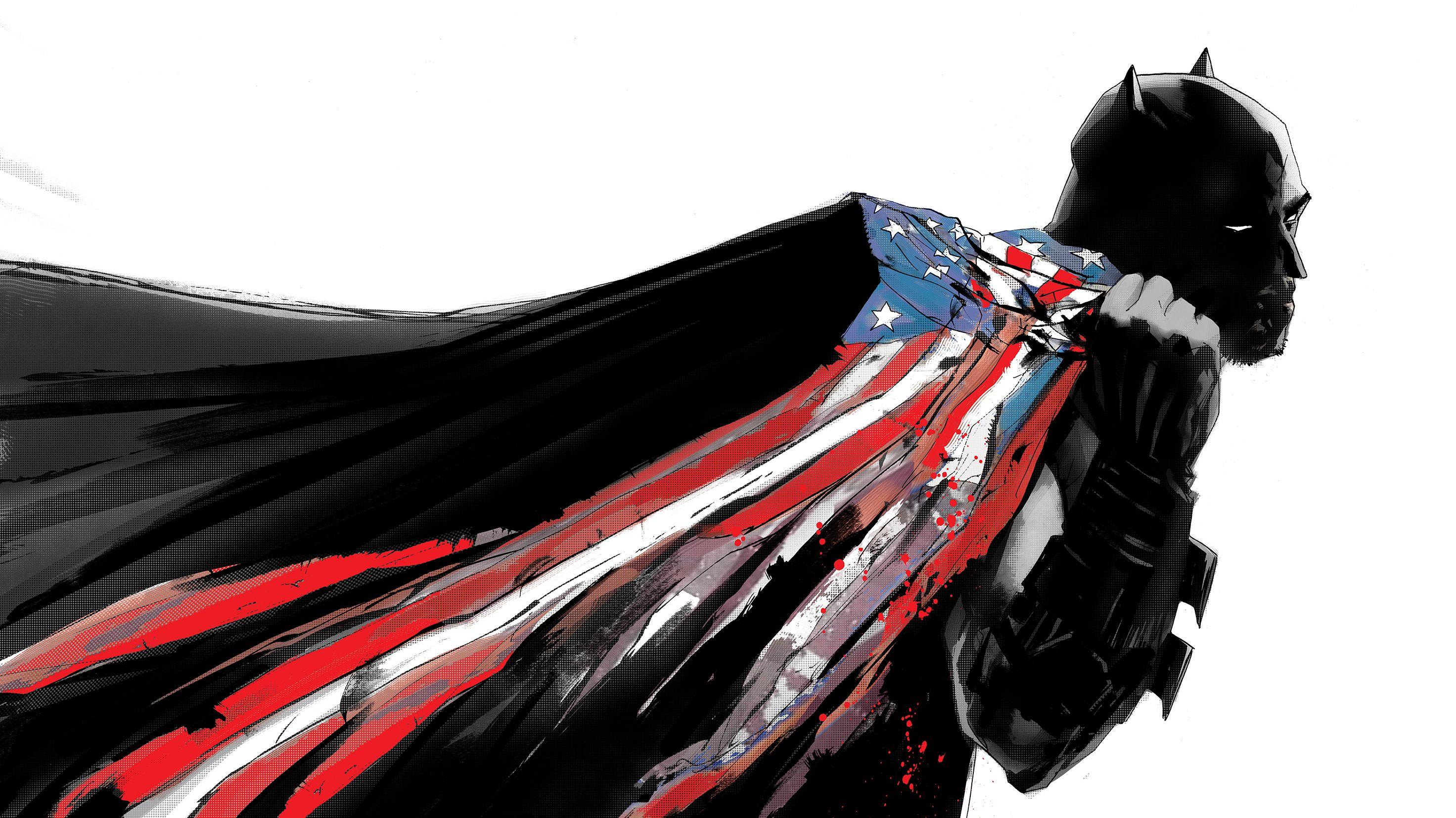 Wie der Comiczeichner Jock, Mark Simpson, Batman entwirft
