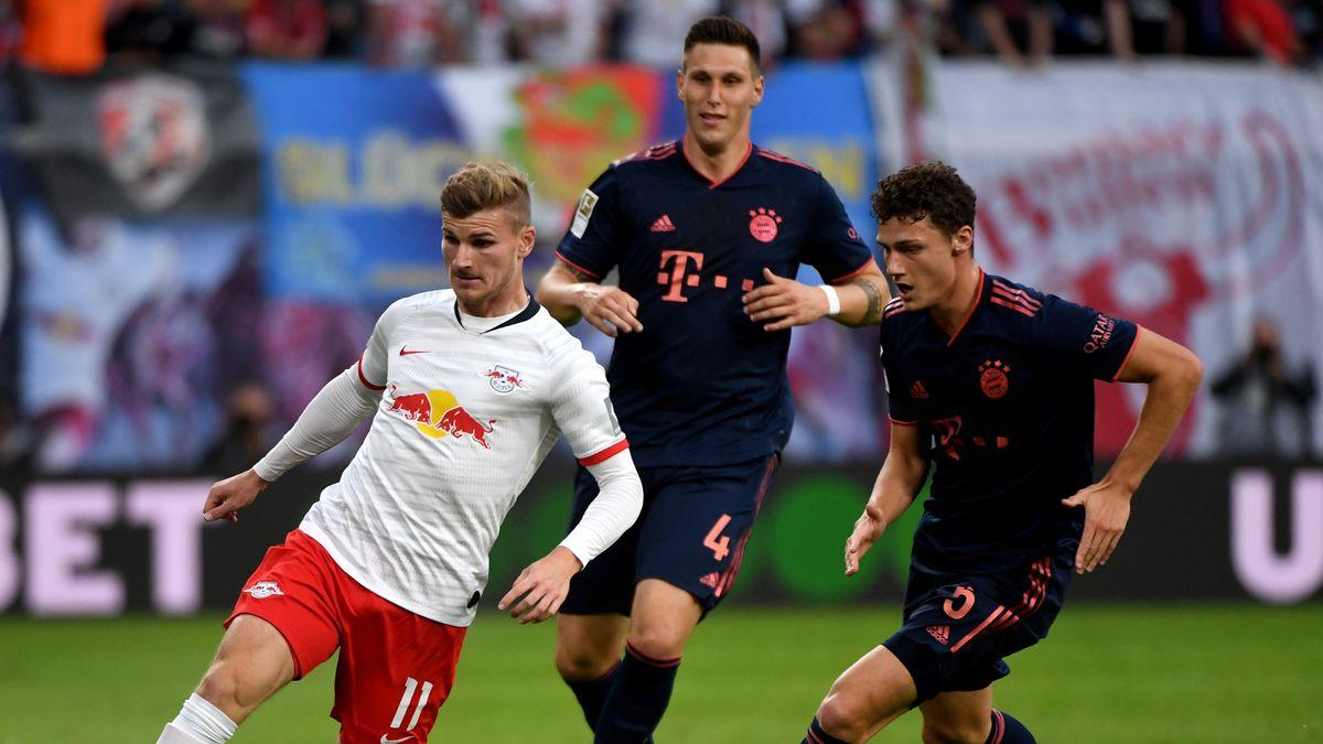 Spielszene RB Leipzig - FC Bayern München
