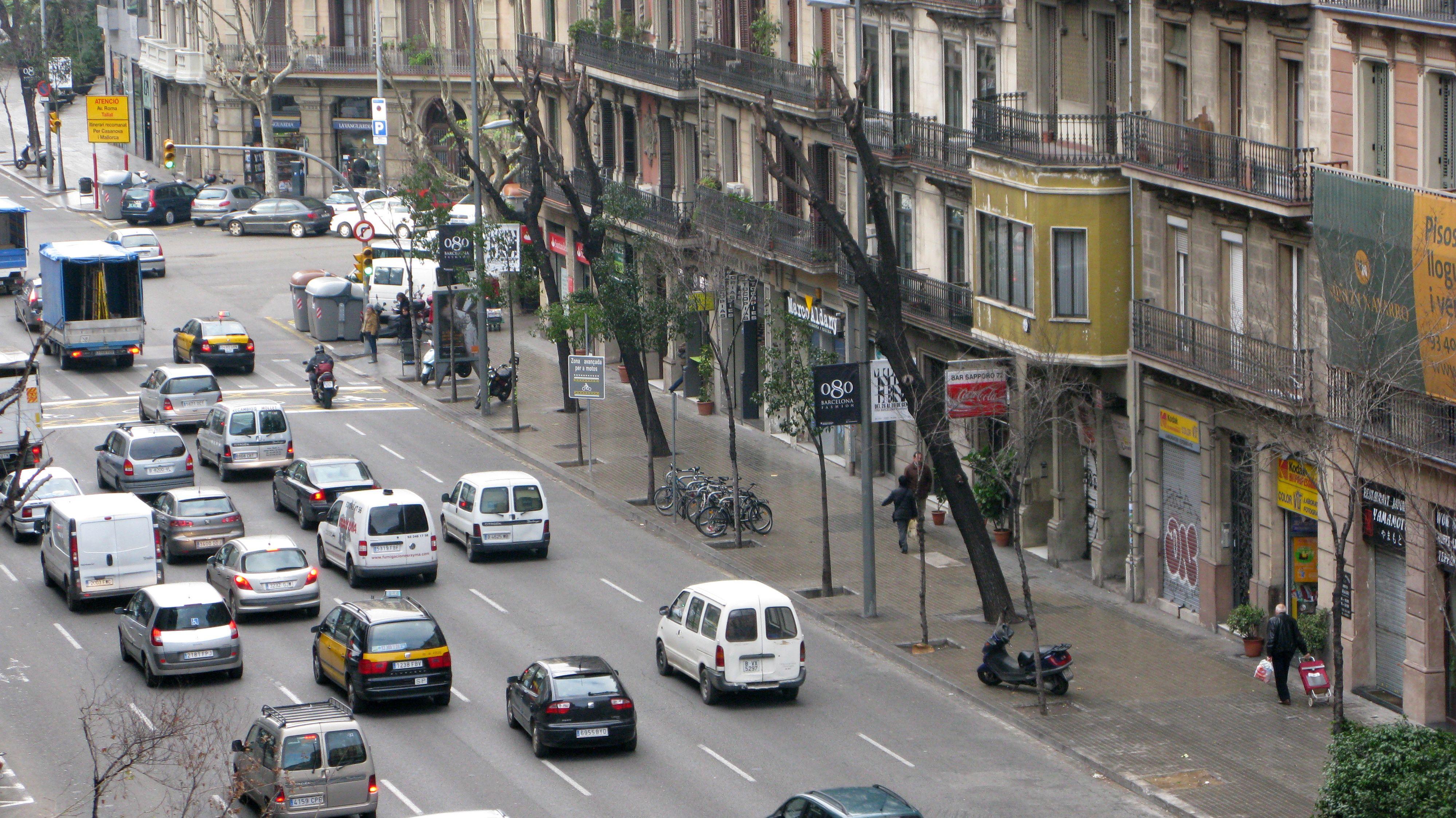 Innenstadt von Barcelona (Symbolbild)