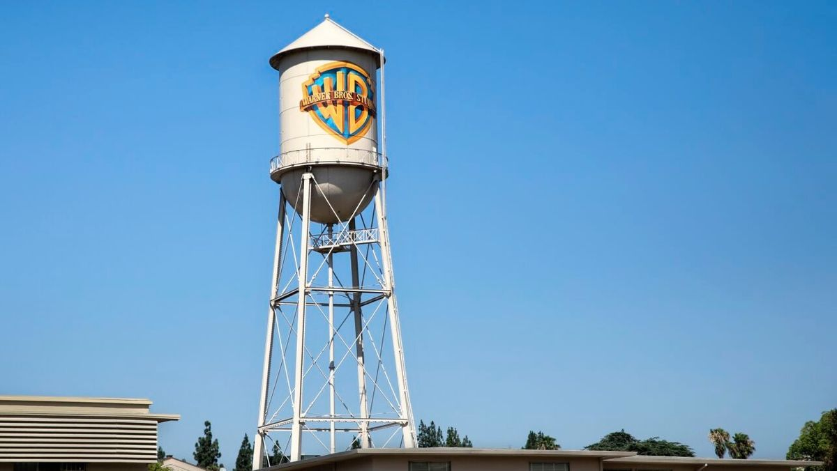 Der Wasserturm in den Warner Brothers Studios