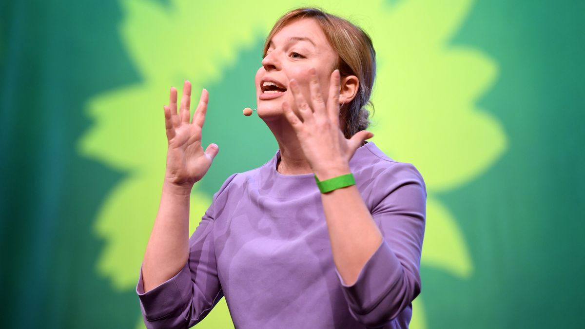 Katharina Schulze von den bayerischen Grünen