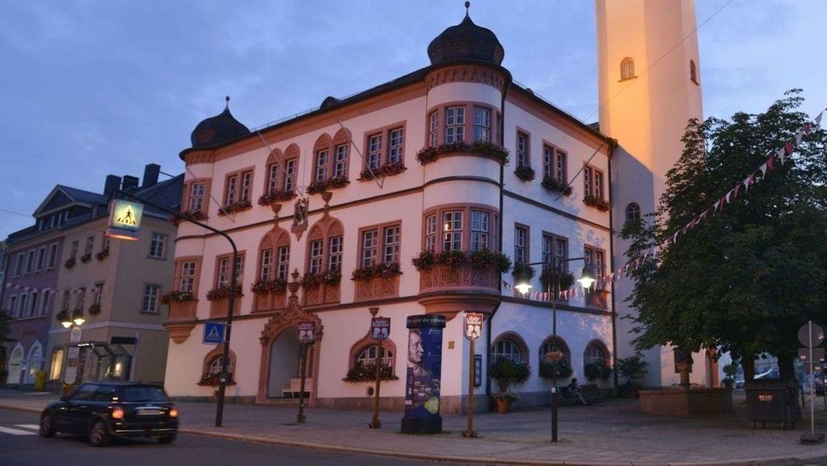 Das Rathaus von Hof