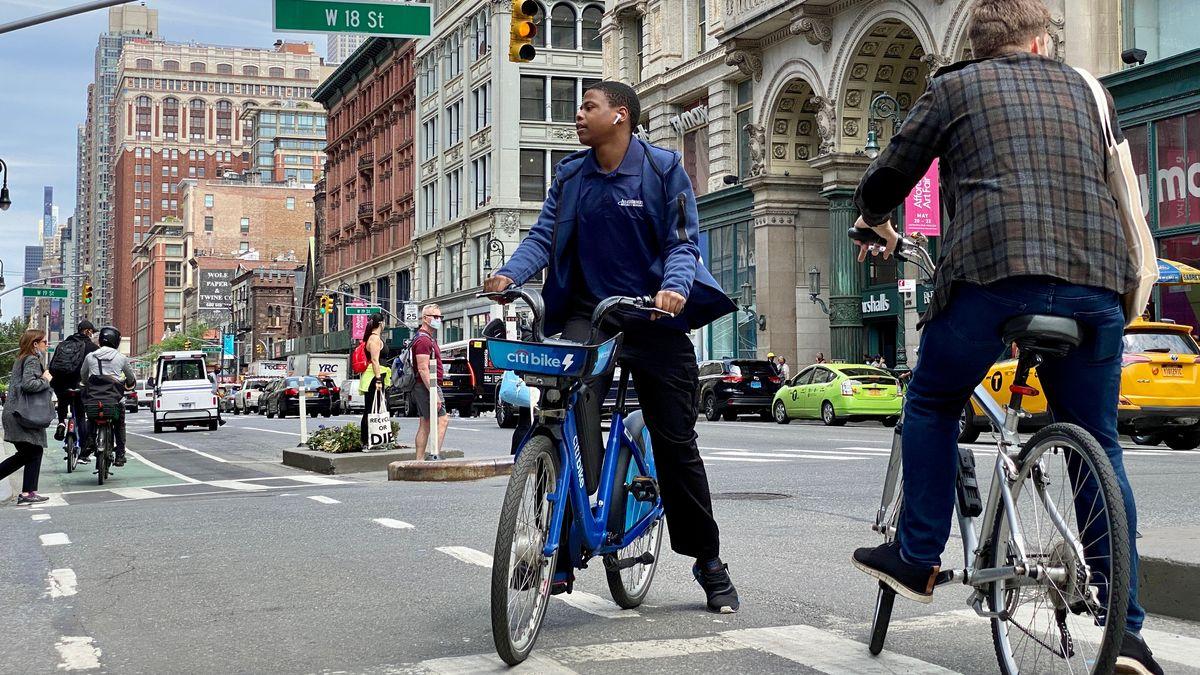 Radeln in New York