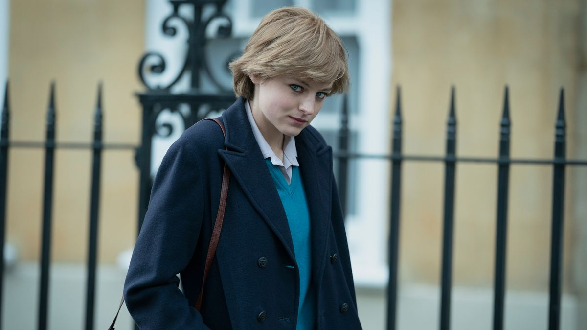 "Diana Spencer in der 4. Staffel der Netflix-Serie ""The Crown"""