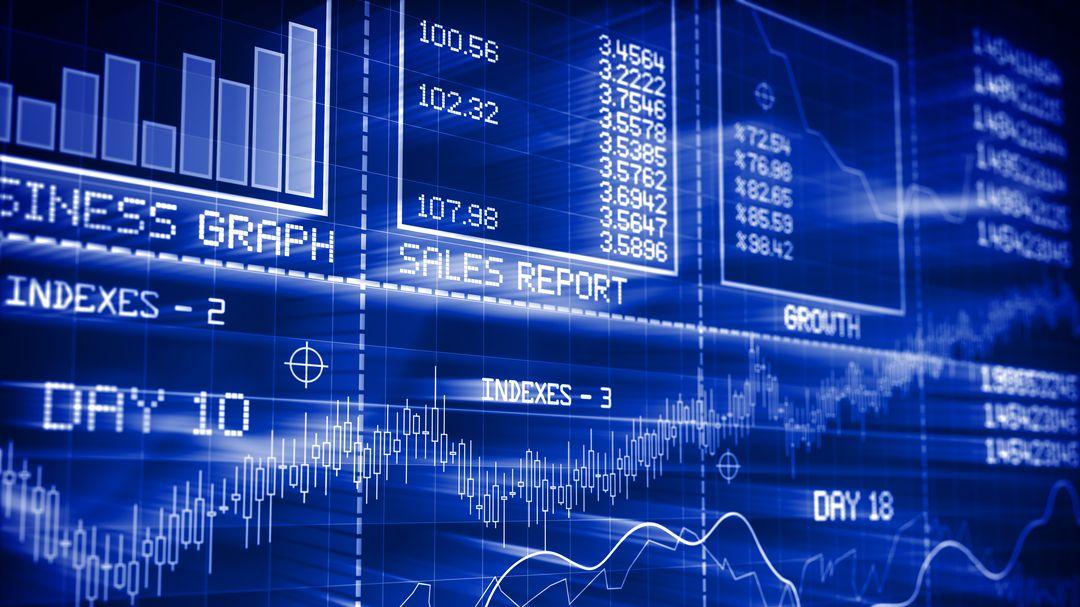 Reportings und Graphen vom Aktienmarkt