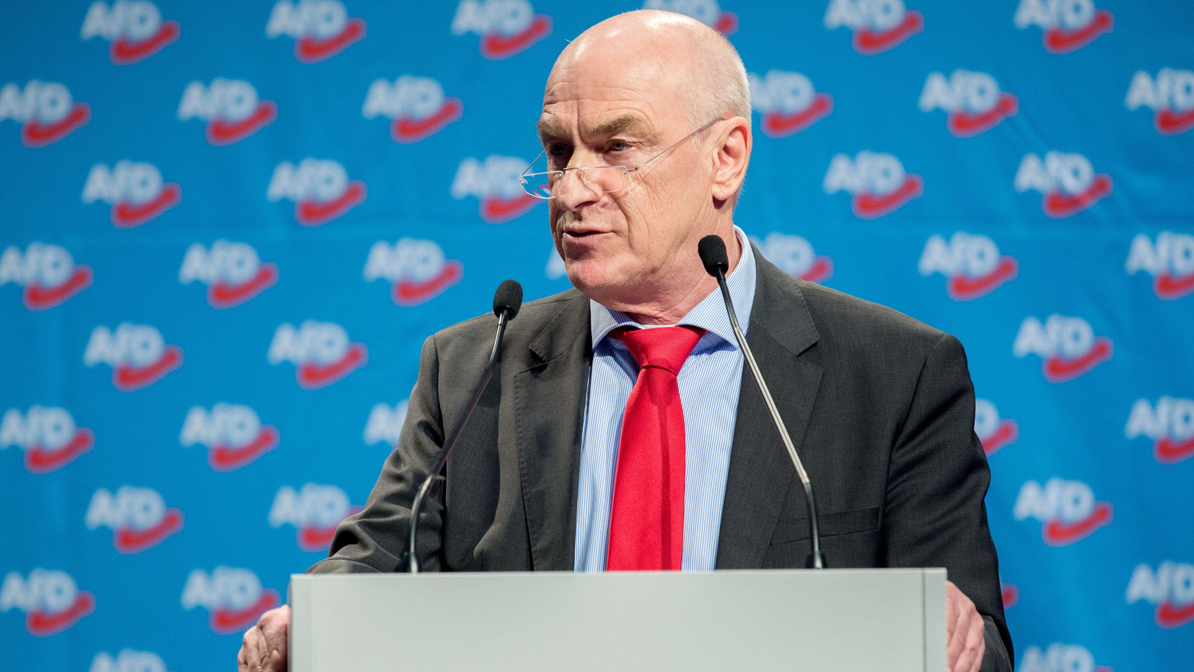 Klaus-Günther Fohrmann, Bundesschatzmeister der AfD
