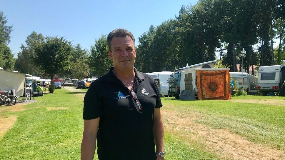 Andreas Barmbichler betreibt einen Campingplatz in Waging am See.