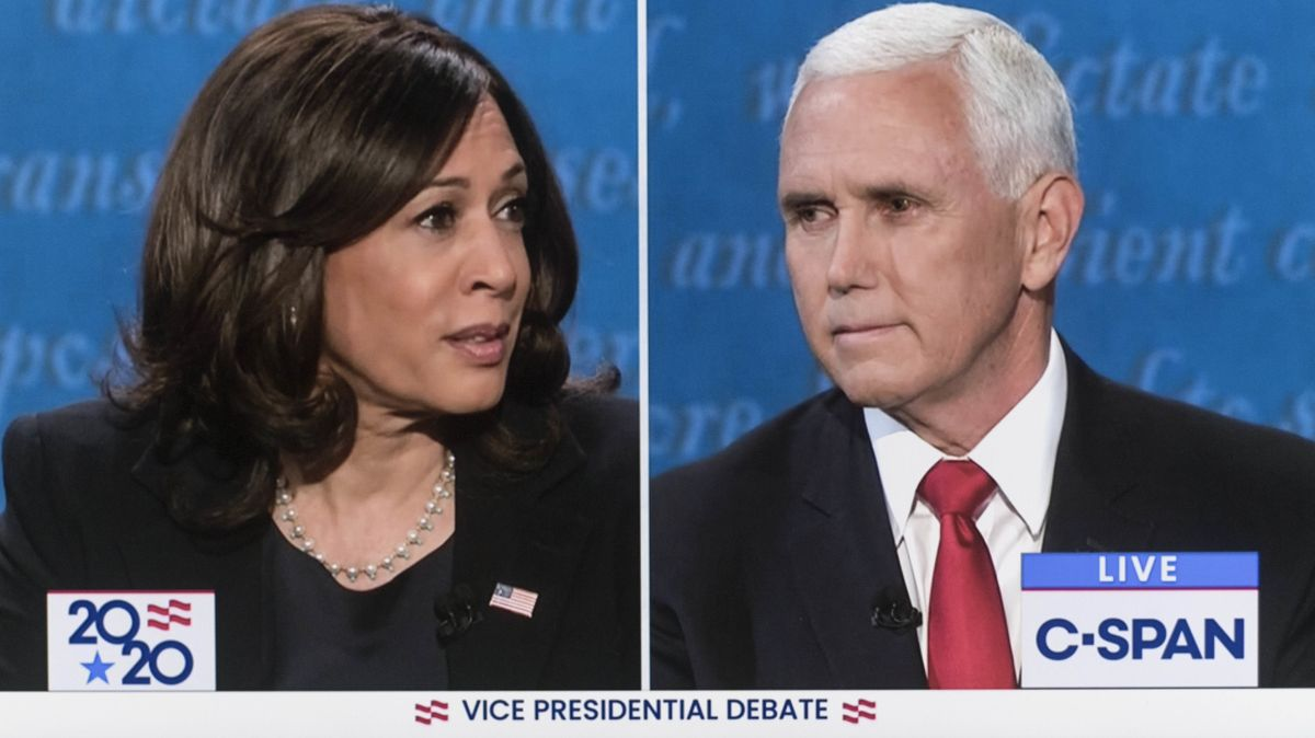 TV-Debatte zwischen Kamala Harris und Mike Pence