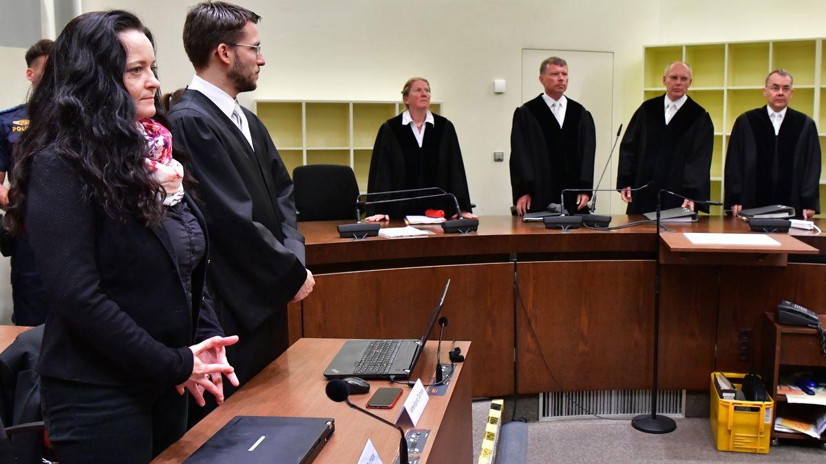 Archivbild: Urteilsverkündung im NSU-Prozess (München, 11. Juli 2018)