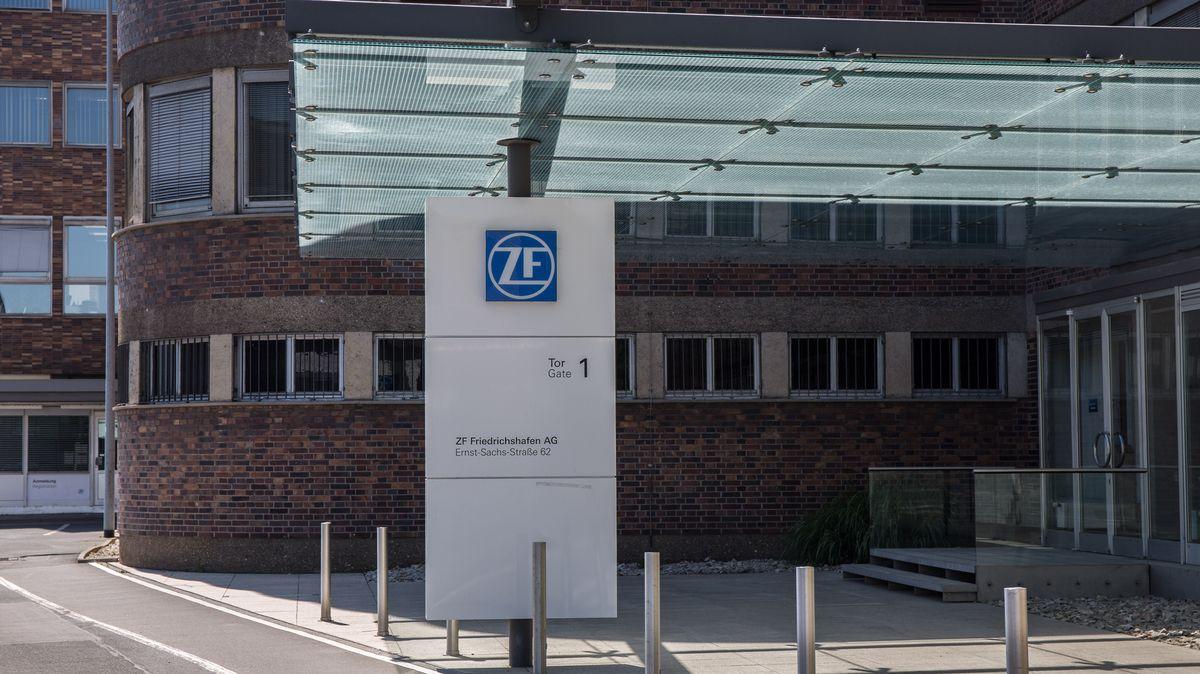 Gebäude von ZF in Schweinfurt
