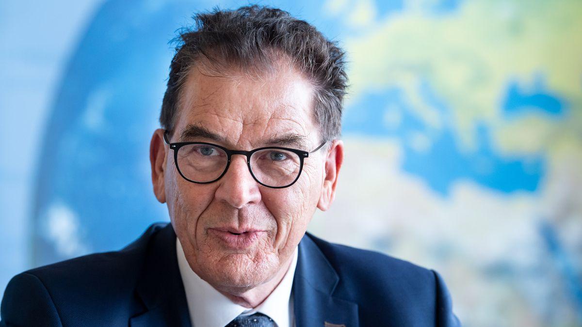 Entwicklungminister Gerd Müller (CSU).