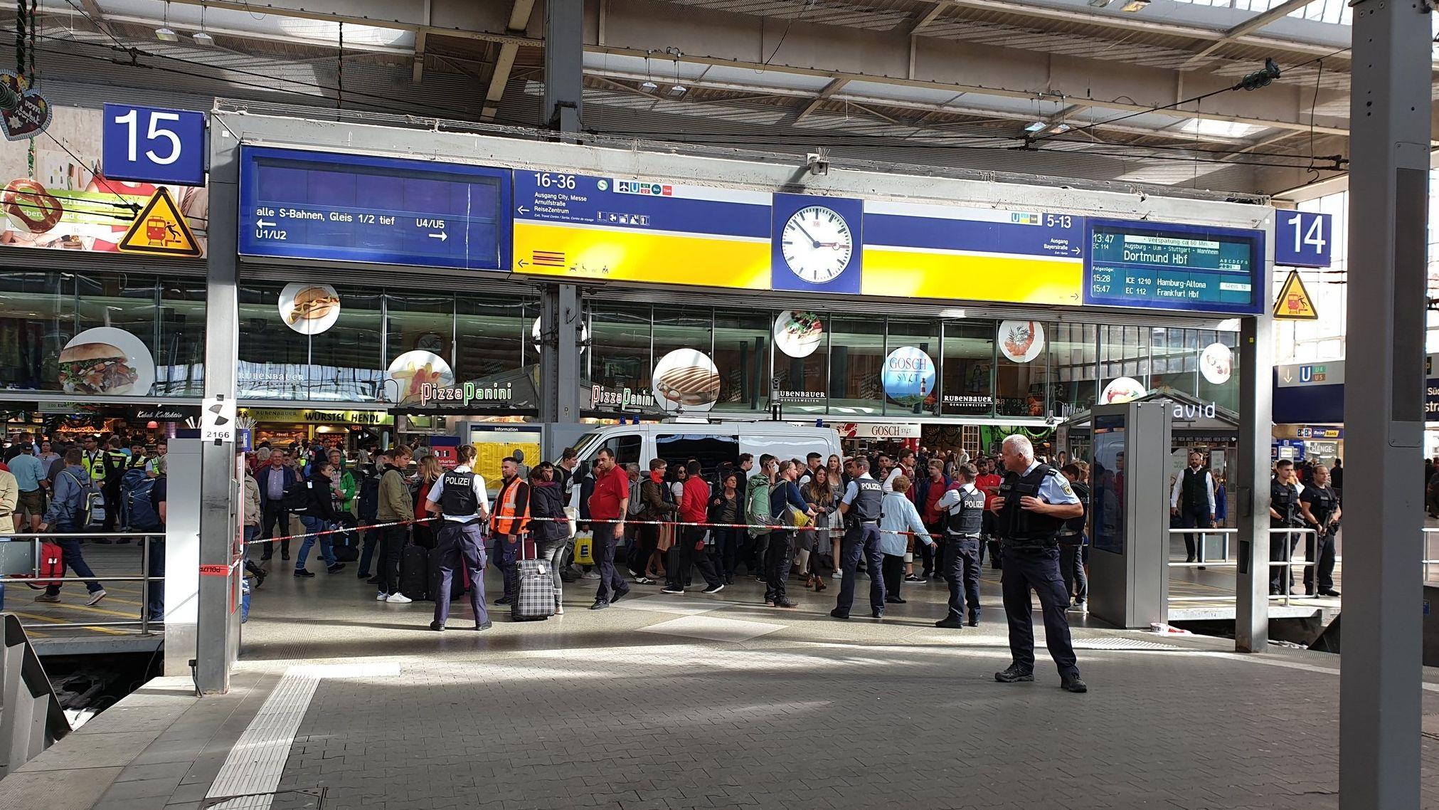 Entwarnung Nach Polizeieinsatz Am Münchner Hauptbahnhof Br24