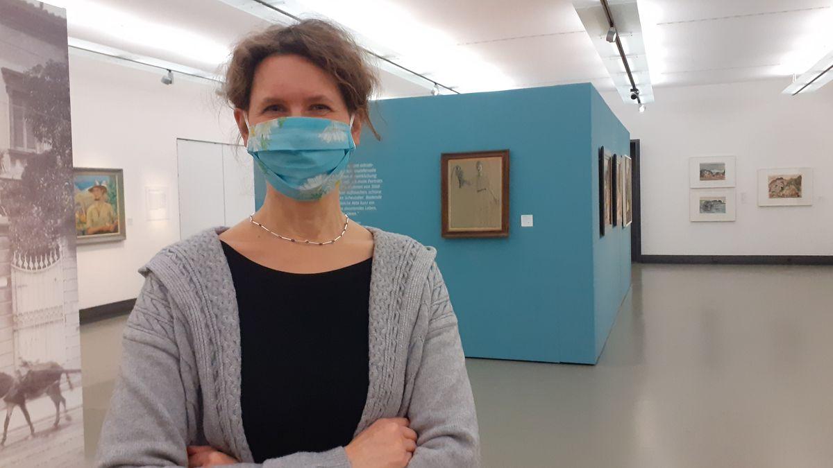 Dr. Henrike Holsing, die Stellvertretende Leiterin des Würzburger Museums im Kulturspeicher