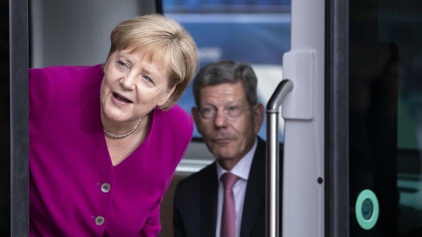 Merkel und Mattes auf der IAA 2019
