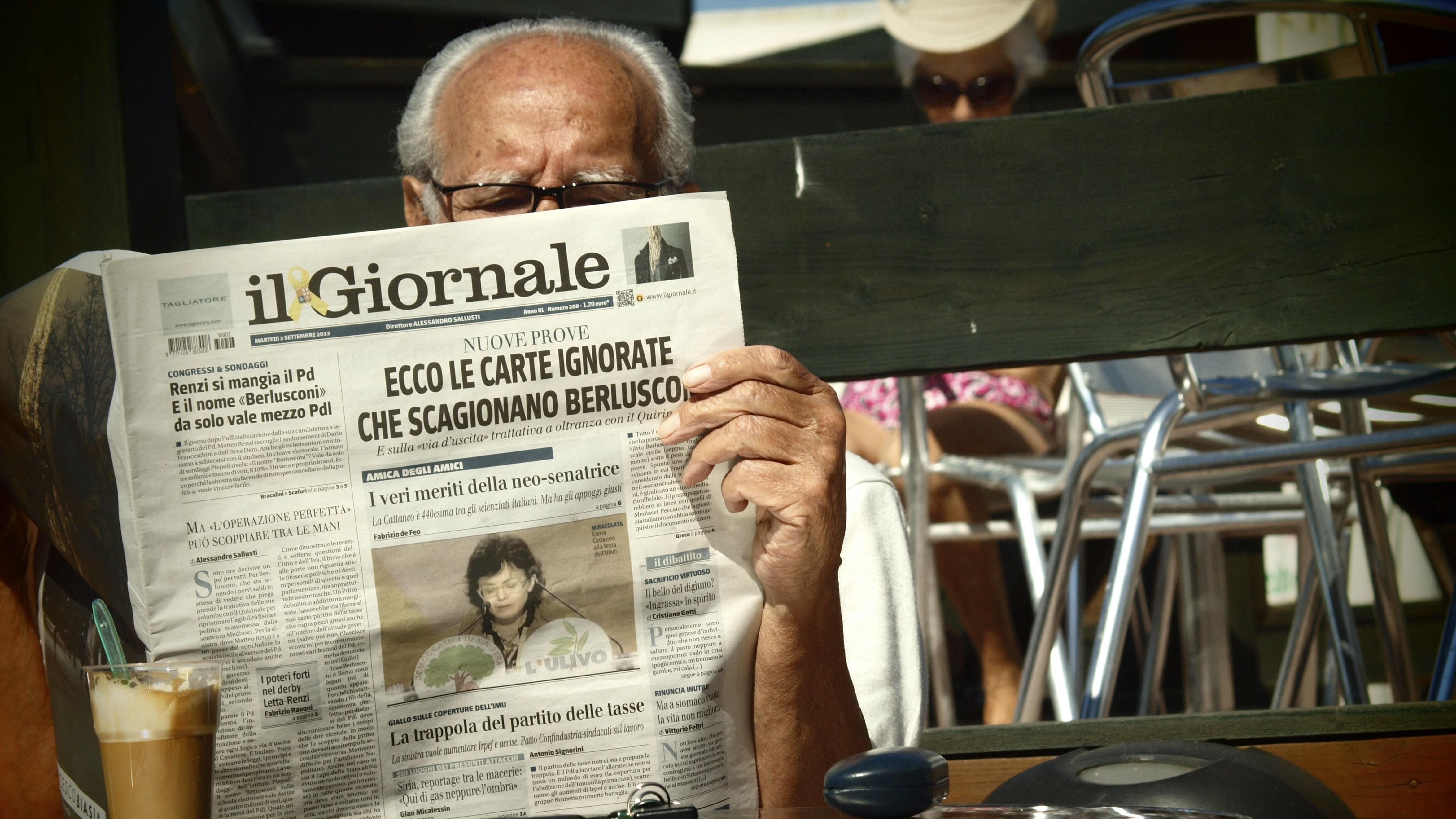 Pressefreiheit in Italien in Gefahr?