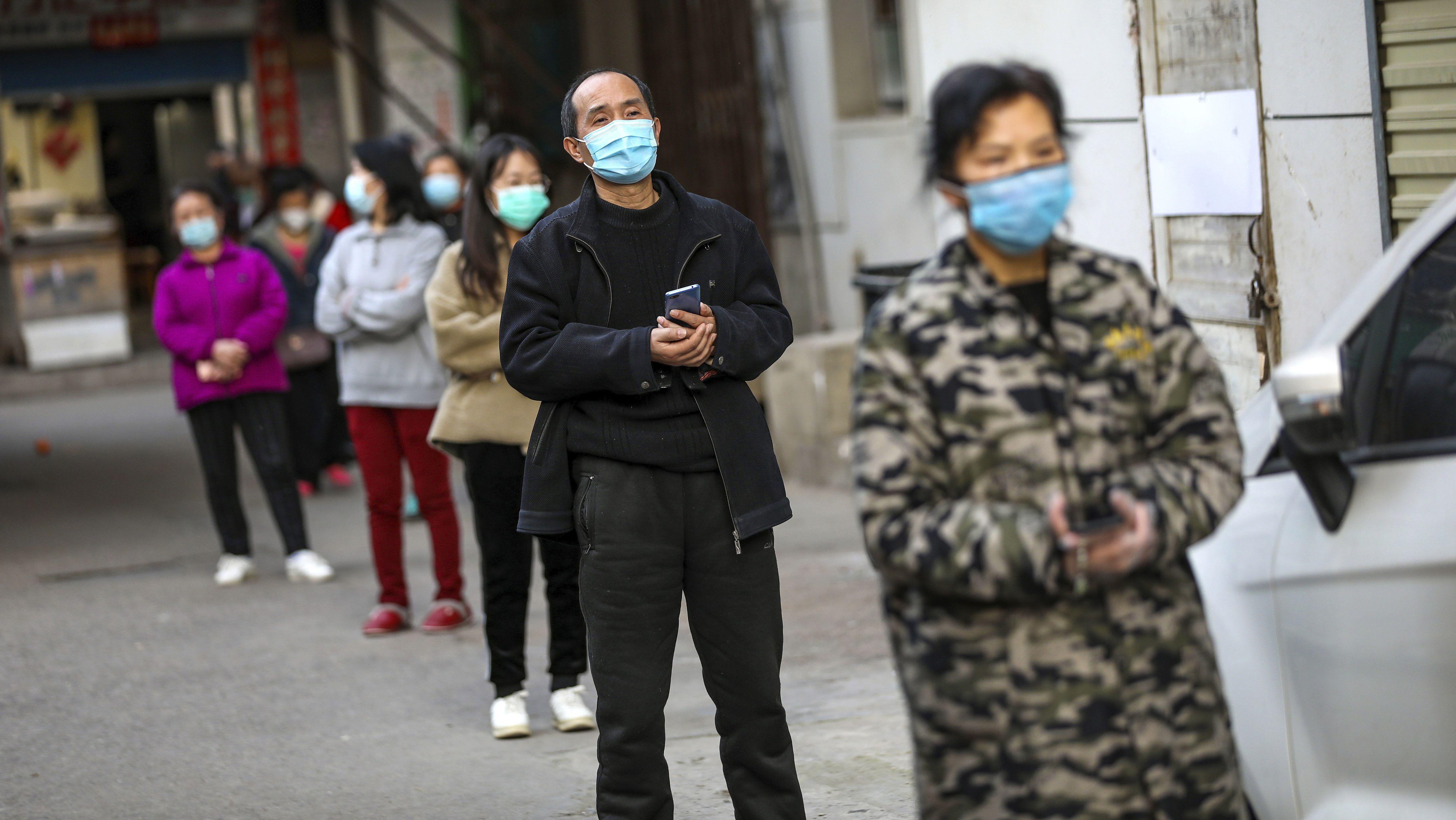In der Provinz Hubei stehen weiterhin 60 Millionen Menschen unter Quarantäne.