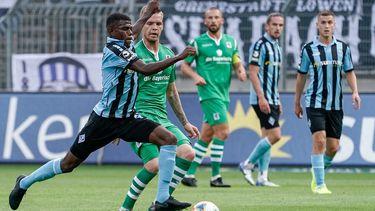 Spielszene Waldhof Mannheim - TSV 1860 München
