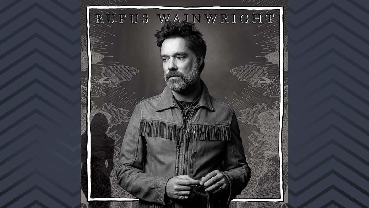 Schwarz-weißes Cover mit Rufus Wainwright drauf