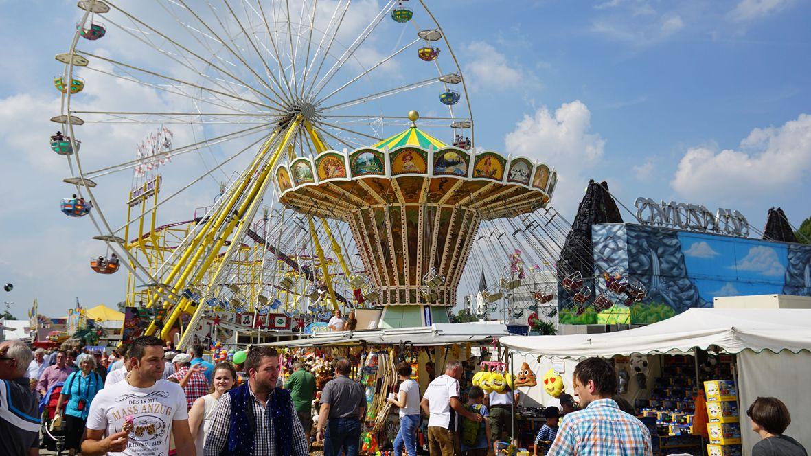 Zum Karpfhamer Fest werden wieder über 400.000 Besucher erwartet