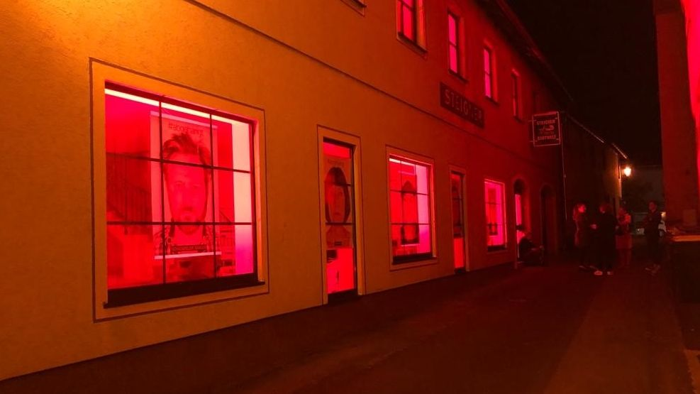 """Night Of Light"" am Theaterhaus in der Centgasse in Gerolzhofen"