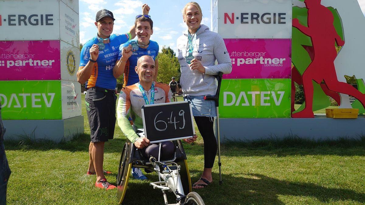 Para-Triathlon-Staffel