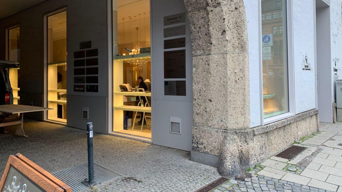 Der Juwelier in der Münchner Altstadt.