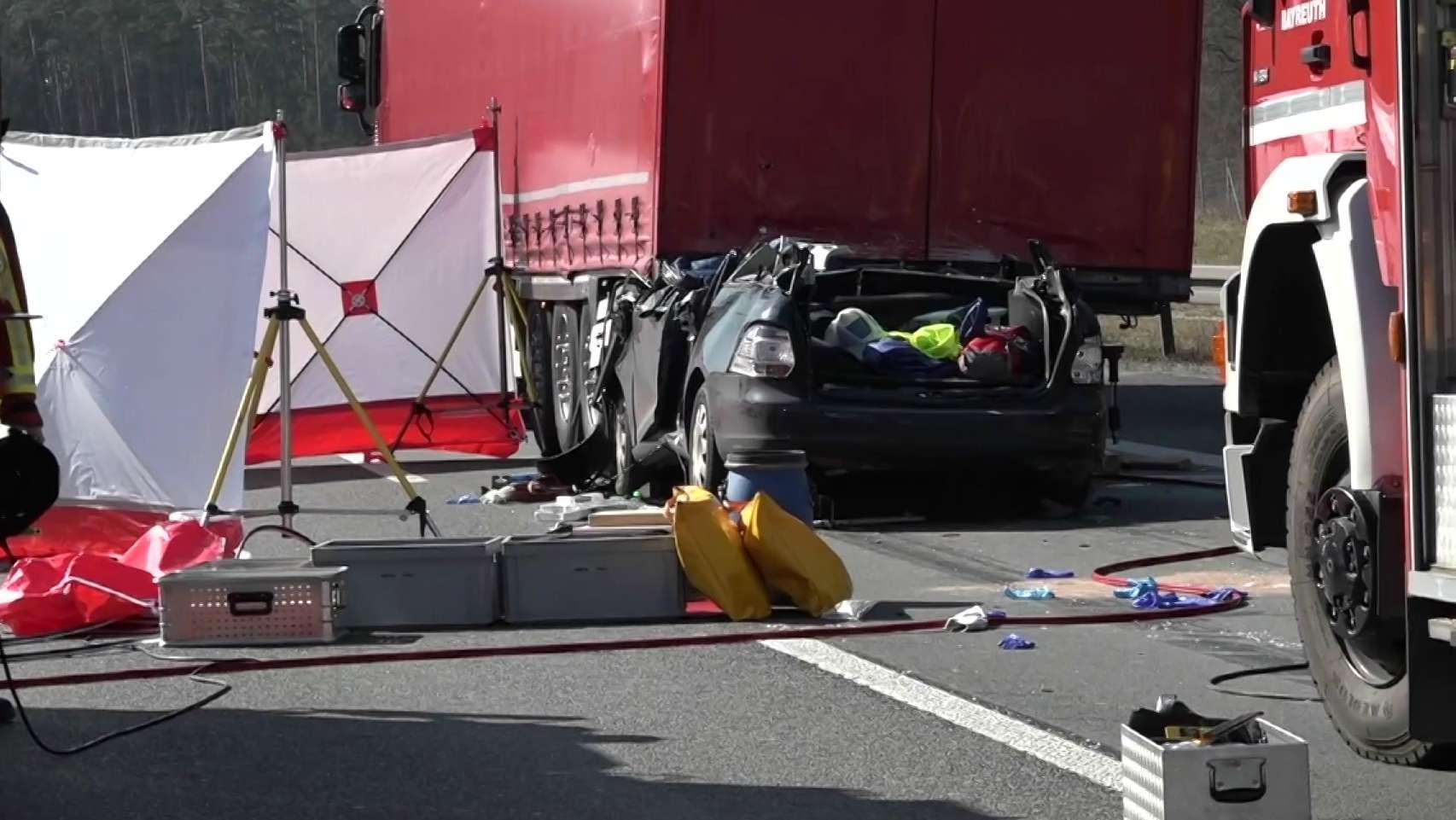 Schwerer Unfall auf A9