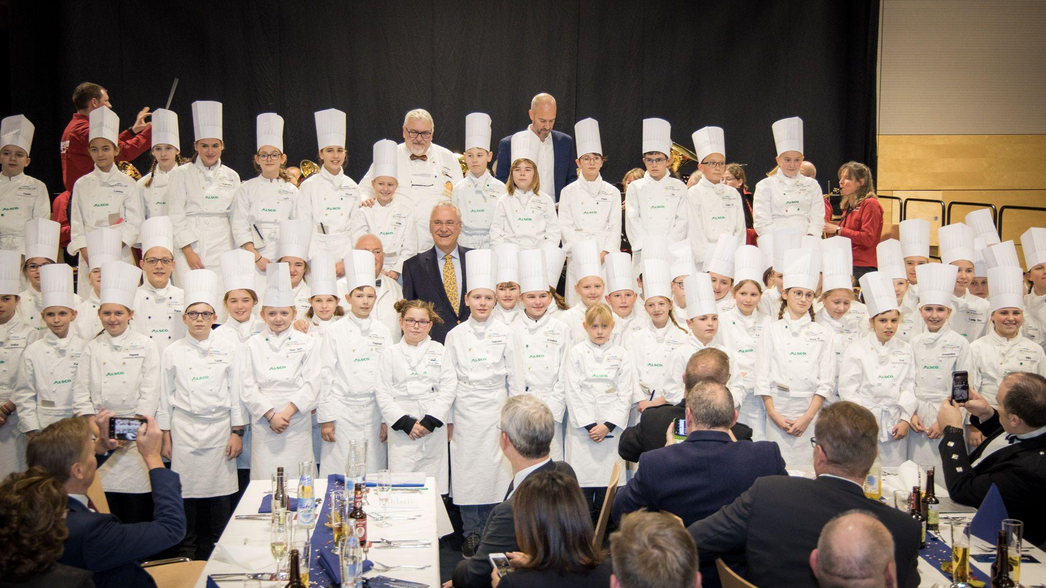 Sternstunden-Gala der Europa-Miniköche in Hersbruck