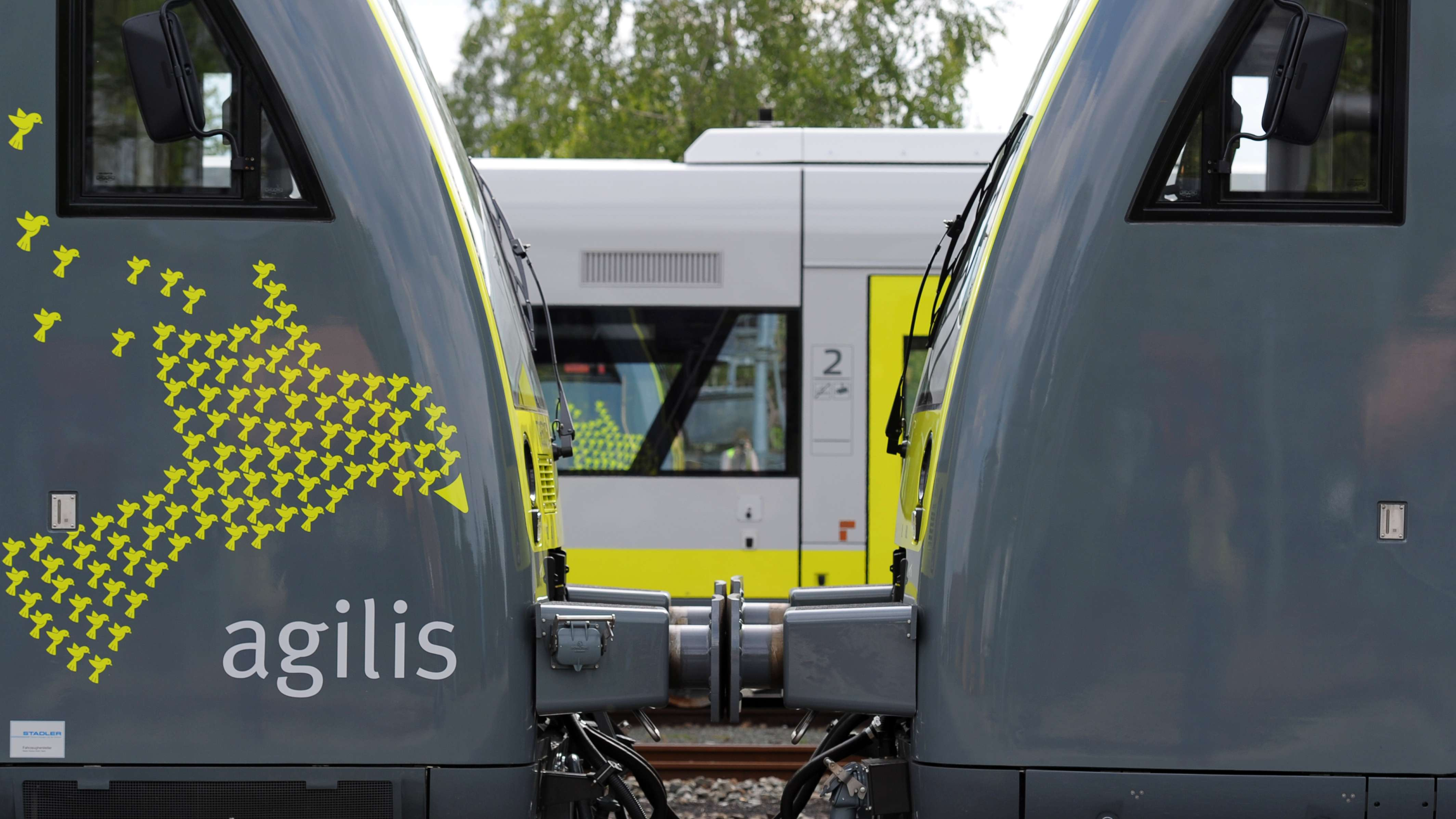 Symbolbild: Agilis-Triebwagen