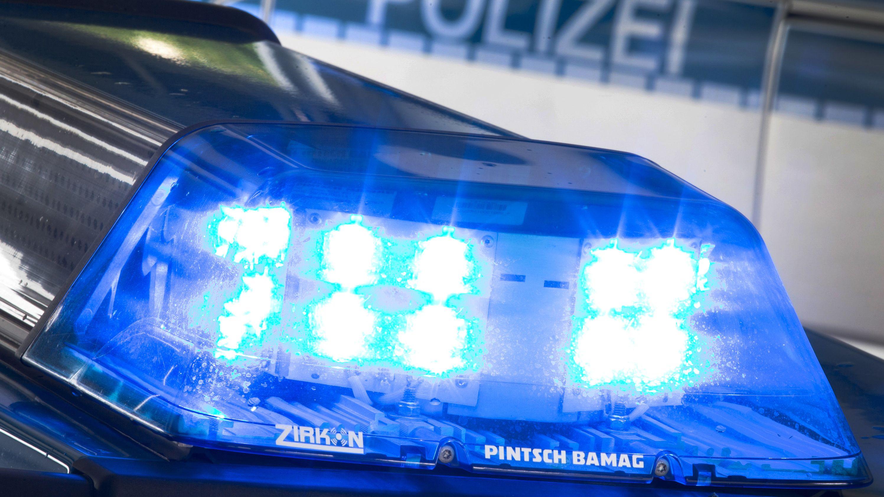 Blaulicht Polizei (Symbolbild)