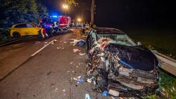 Archivbild: Autowracks nach einem illegalen Autorennen bei Sundern (NRW) | Bild:dpa