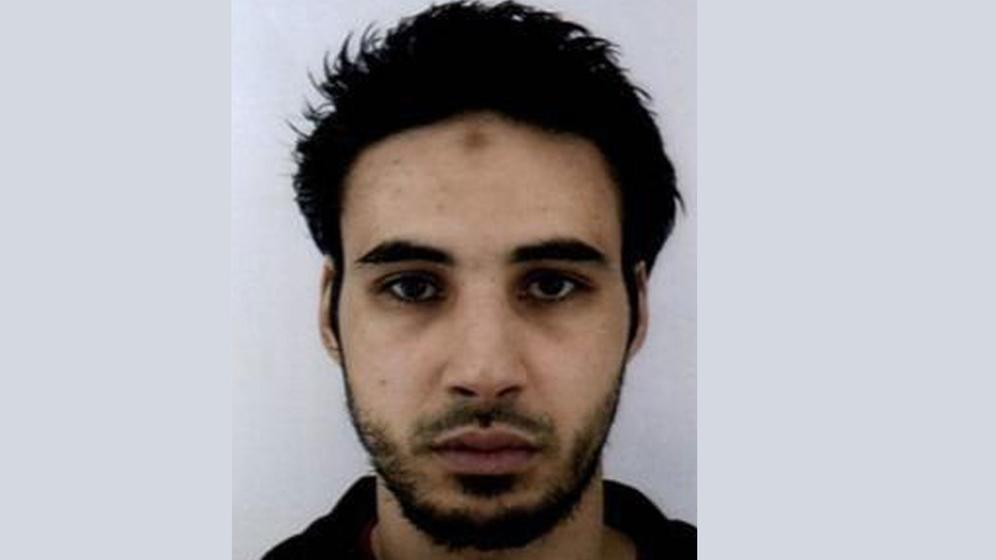 Chérif Chekatt, mutmaßlicher Attentäter von Straßburg | Bild:pa/dpa/Polizei