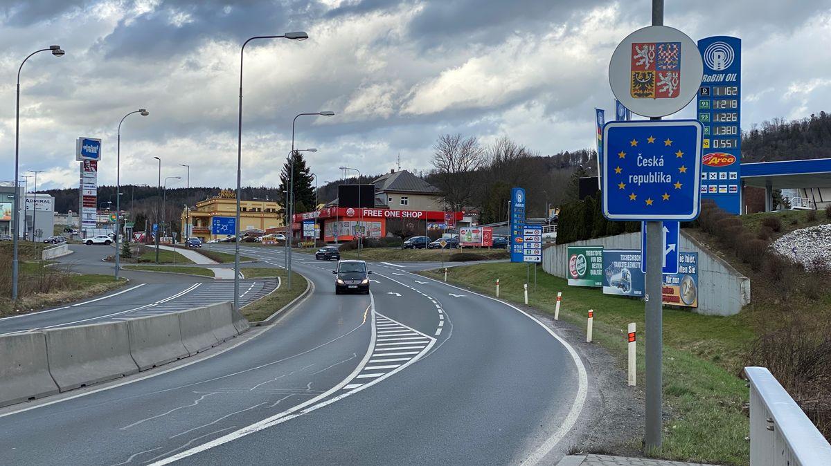 Die Grenze zu Tschechien in Furth im Wald.