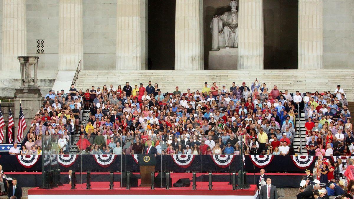 Archivfoto 2019: Feierlichkeiten mit Trump in Washington