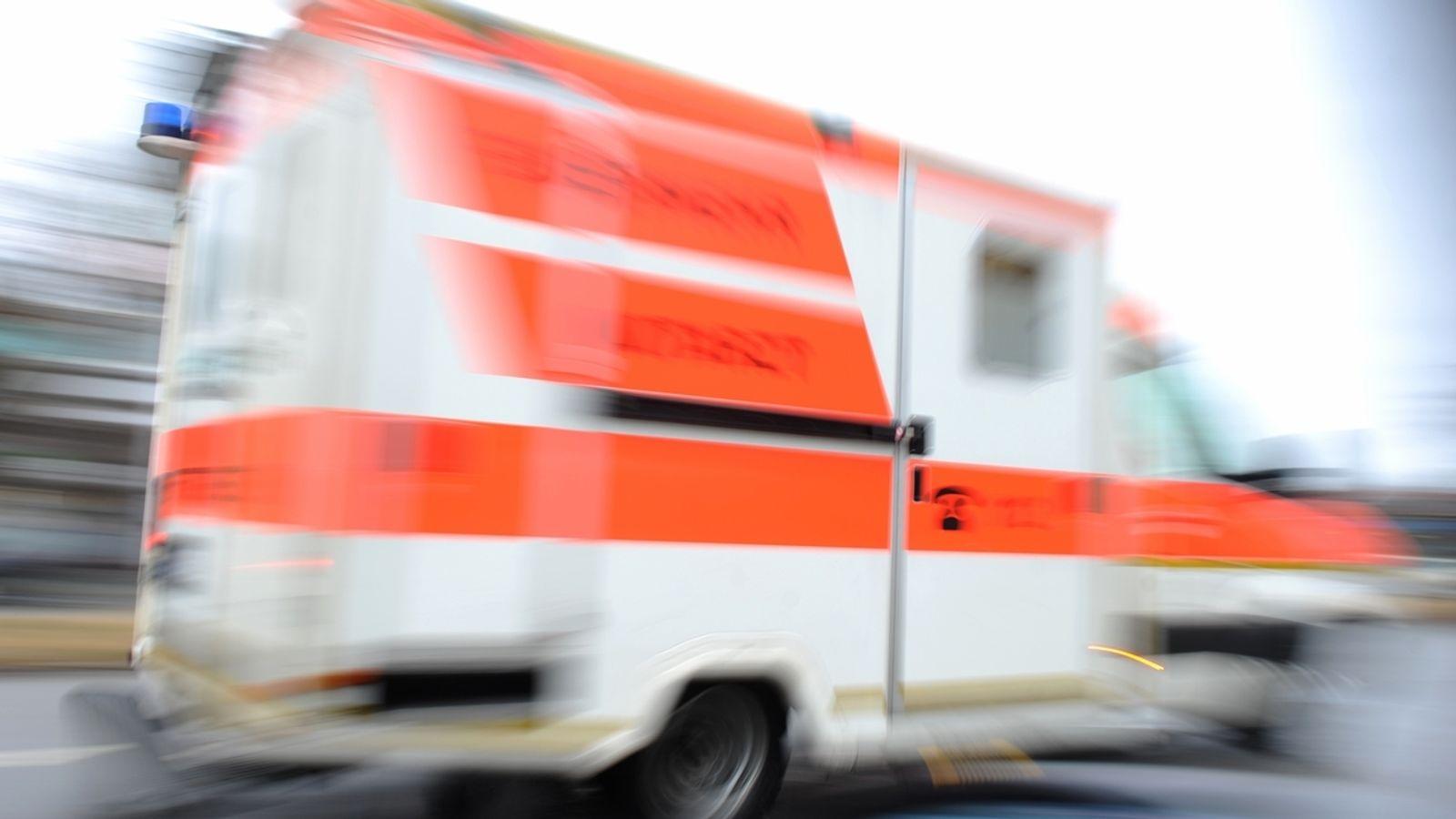 Würzburg: Diebe klauen Teile von Rettungswagen