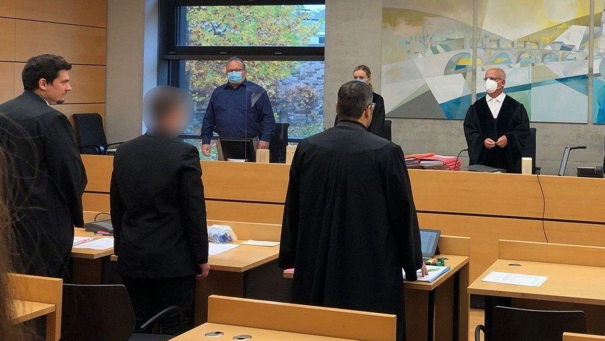 Prozess am Landgericht Würzburg.