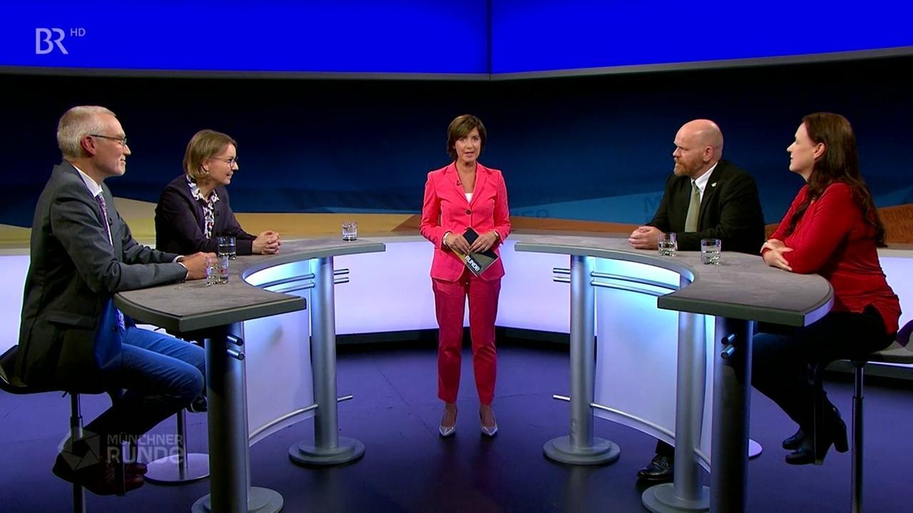 Münchner Runde Gesundheitsdaten Ursula Heller und Gäste