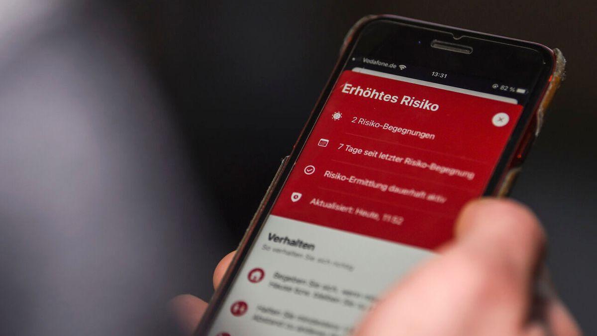 Risikowarnung Corona-Warn-App