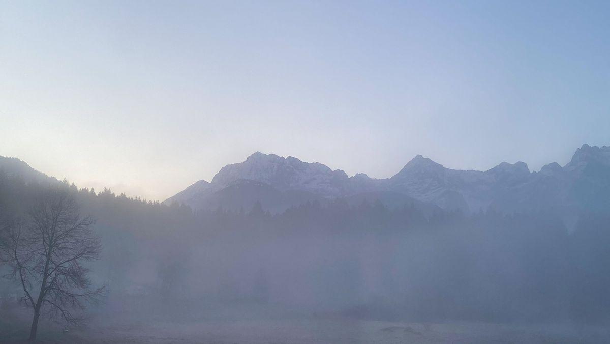 Landschaft im Karwendelgebirge (Symbolbild)