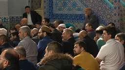 Muslime in einer Nürnberger Moschee   Bild:BR