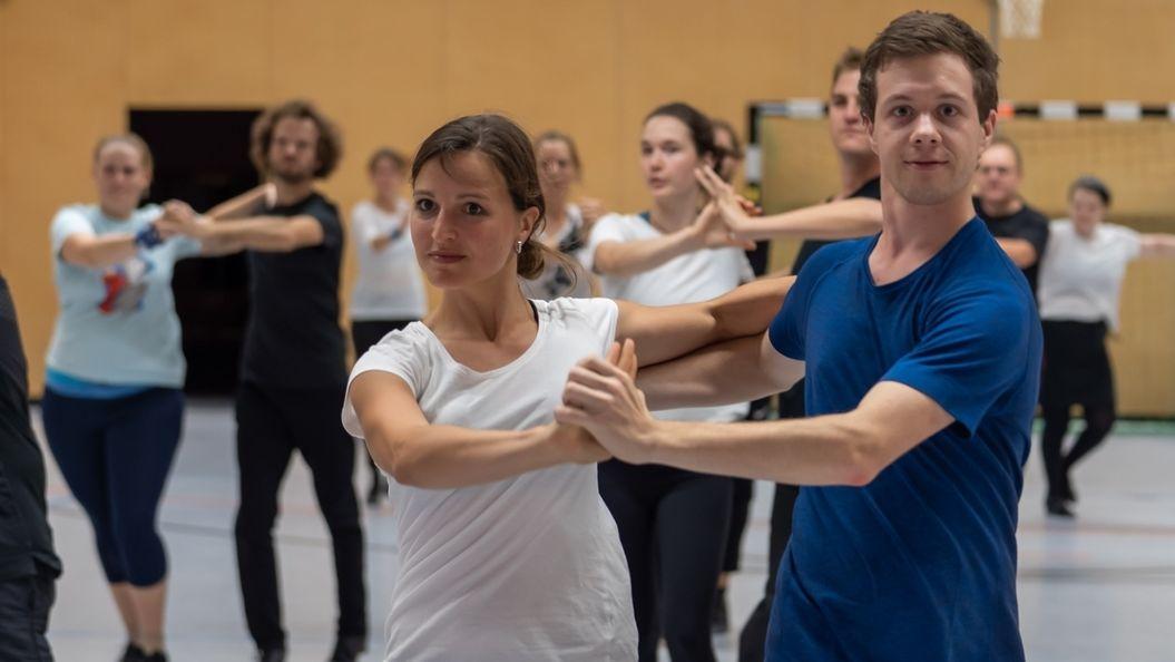 Tanztraining beim GrünGoldClub München e.V.