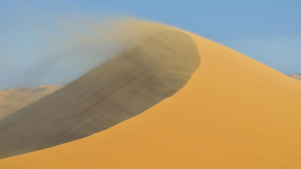 Sandsturm Wüste Düne