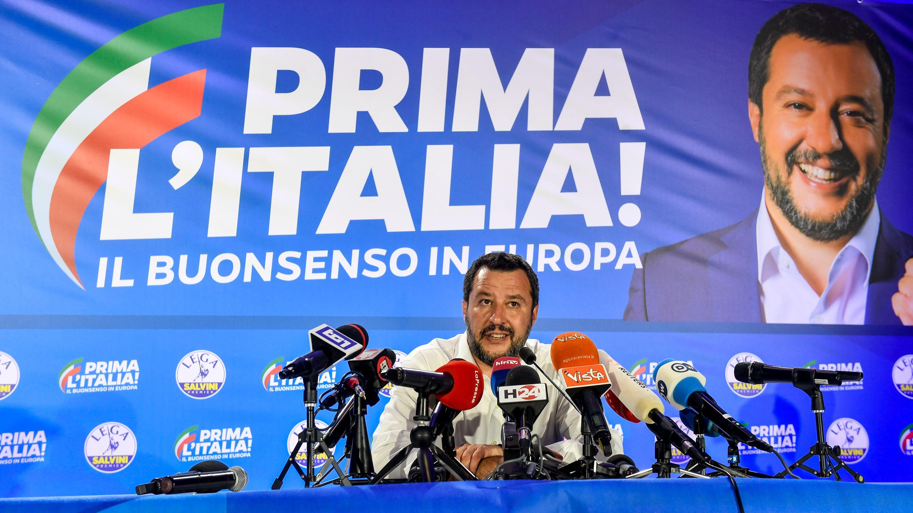 Mateo Salvini, Lega Nord